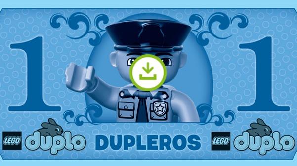 Banconote Lego Duplo da scaricare