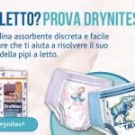Campione gratuito pannolini Drynites