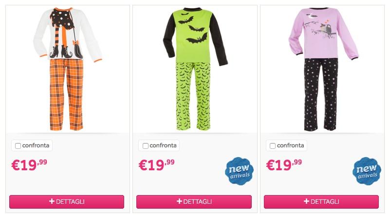 Pigiamini e calzini di Halloween su Prenatal