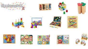 Giochi Montessori su Amazon