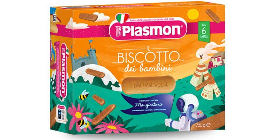 Vinci con i biscotti Plasmon Mangiastorie
